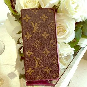 COPY - Louis Vuitton Monogram IPhone 8+ Wallet Ca…